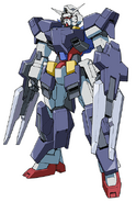 Gundam AGE-1 Flat FA Front