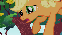 Applejack about to crash S1E23