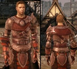 DAO Alistair Ceremonial Armor heavy chestpiece
