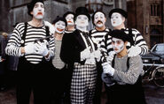 Joker and his mimes