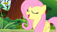 Fluttershy 'gotten my cutie mark if it weren't for her' S1E23