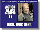 WPVI-TV's Channel 6 Action News At 5's First, Only, Best Video Promo From November 1986