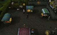 Emote clue Yawn Draynor marketplace