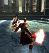 Perseus vs Kratos in God of War II