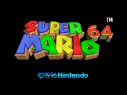 Title Screen - Super Mario 64