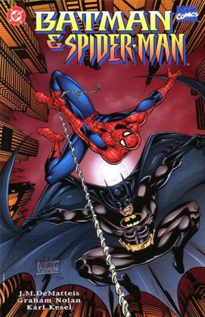 Batman and Spider Man