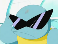 EP270 Squirtle colocndose las gafas de sol