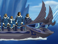 Water Tribe boat