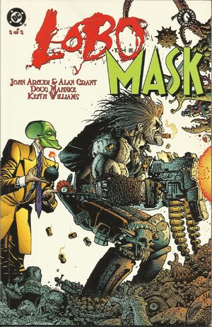 Cover for Lobo/Mask #3
