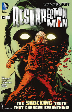 Cover for Resurrection Man #12