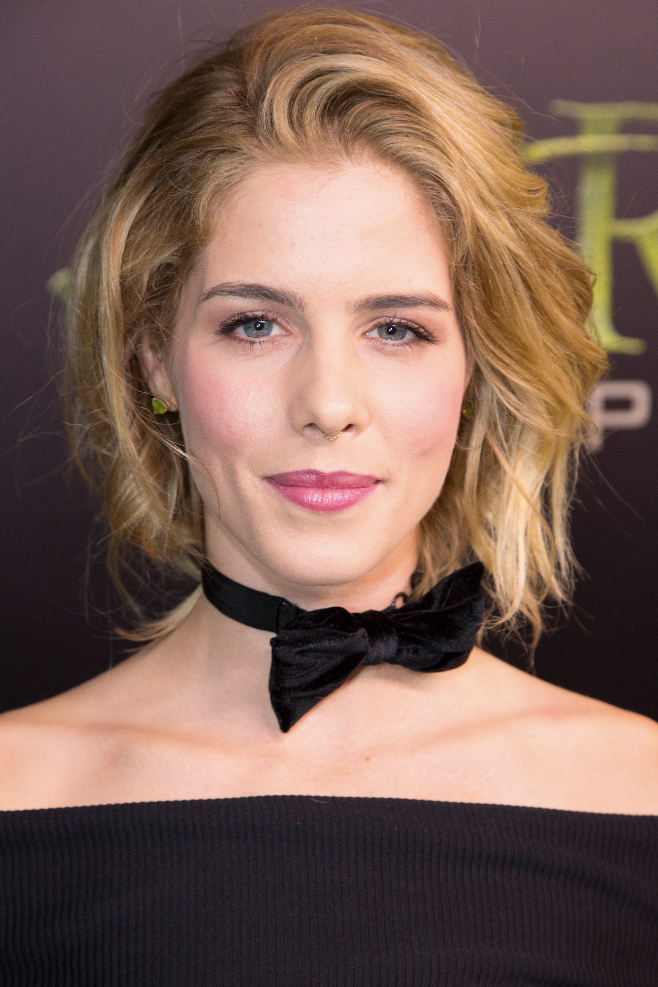 Emily Bett Rickards looking lovely.
