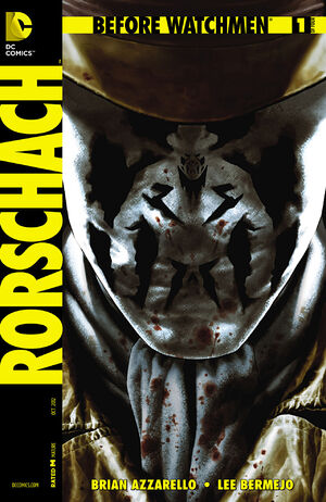 Cover for Before Watchmen: Rorschach #1