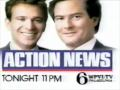 WPVI-TV's Channel 6 Action News Tonight's Weekend Edition Video ID From 1988