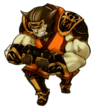 Monk FFXI Ikeda Icon