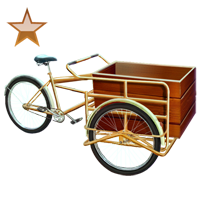 Huge item pedalcart bronze 01