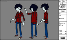 Modelsheet Marshall Lee 1