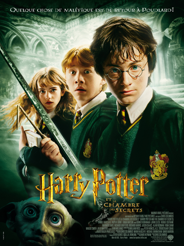 Harry Potter 2 et la chambre des secrets en streaming