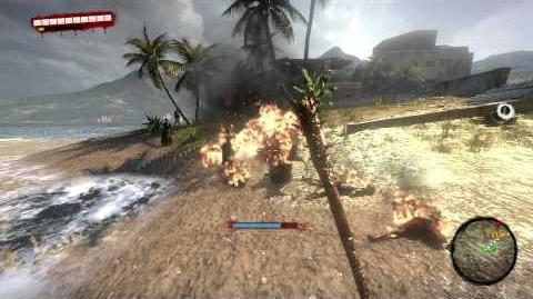 Dead Island Awesome Incendiary Grenade