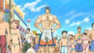 Toriko and Komatsu at Gourmet Beach