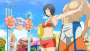 Rin protecting Toriko from the fans2