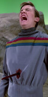 Wesley Crusher stabbed, 2364