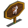 Candy Corn Pegasus Foal Mastery Sign-icon