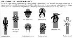 Great Kabals Symbols