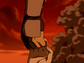 Toph and Sokka holding hands.png