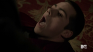 Stiles as punching bag