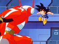 9. Commander Nezi battle against Goku