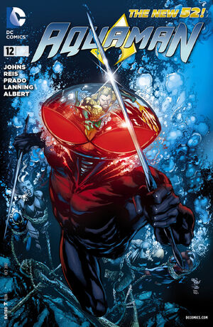 Cover for Aquaman #12