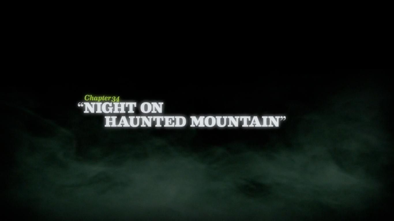 Night on Haunted Mountain title card