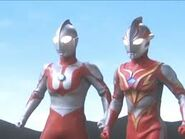 Mebius and hayata
