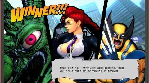 UMVC3 Crimson Viper Quotes (W Eng & Jap Voices)