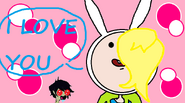 Fionna x marshall lee