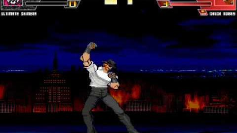 BROKEN MUGEN 7 ultimate chimera vs chuck norris