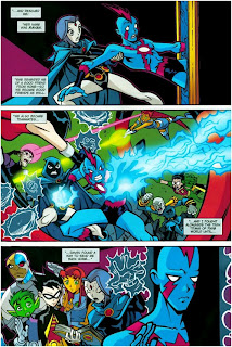 titans raven comic expansion Teen breast