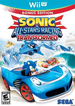 Sonic & All-Stars Racing Transformed (Wii U) (NA)