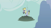 Derpy after being shocked by lighting S2E14
