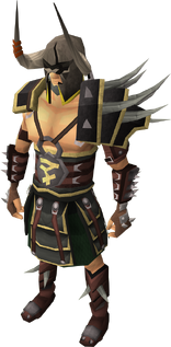 Bandos armour equipped male