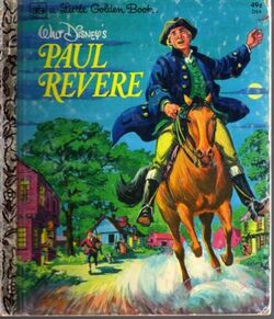 Paul revere little golden book