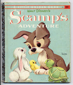 Scamps adventure little golden book