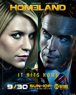 Season 2 poster homeland