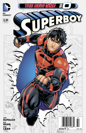 Cover for Superboy #0