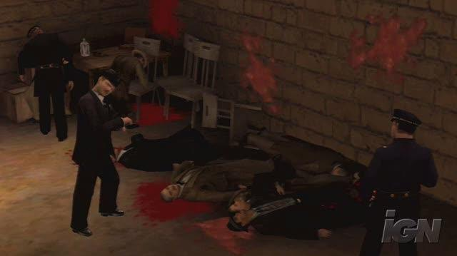 The Godfather The Don's Edition PlayStation 3 Trailer - Valentine's Massacre