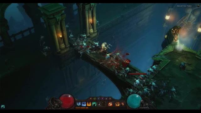 Diablo III PC Games Gameplay - The Barbarian