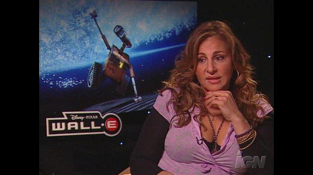 WALL& 8226;E Movie Interview - Kathy Najimy