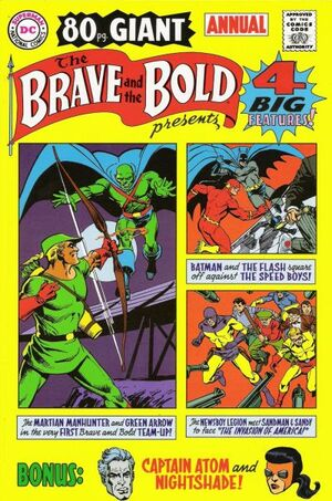Cover for Brave and the Bold Annual #1