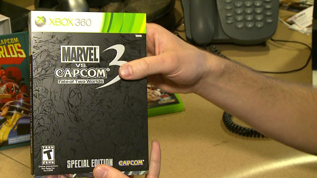Marvel vs. Capcom 3 Special Edition Unboxing
