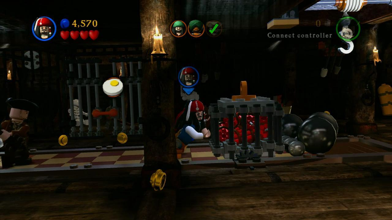 NextGenWalkthroughs LEGO PotC - Pt. 4 - Ch. 2 Queen Anne's Revenge